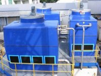 TS 031 321 gearmotor application in cooling tower