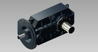 Special gearbox KPD 250