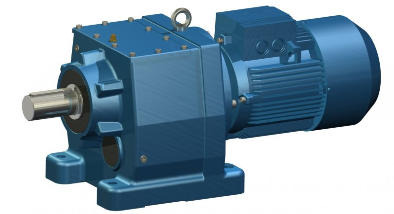 In Line Helical Gear Motors E Box I Lightweight Firm