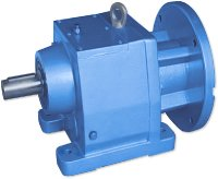 In-line helical gearbox E BOX S - Lightweight, firm, powerful, helpful...