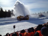 NORA 220 in the drive application of snowblower impeller rotor