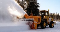 NORA 162 in the drive application of snowblower impeller rotor