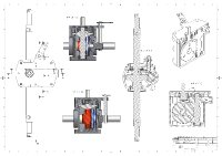 BDR gearbox drawing