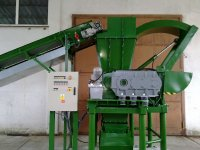 C3 (P) M in drive application of waste shredder